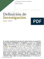 ¿Qué es Investigación_ - Su Definición, Concepto y Significado