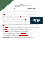 Práctica N° 2  Uso de mayùsculas y signos de puntuaciòn