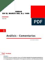 Reinicio de Las Inversiones en El Marco Del DL 1486