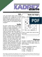 xadrez diario xd0100