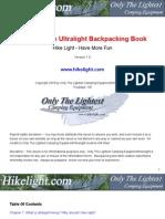 HikeLight - Ultralight Backpacking