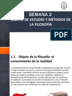semana2 OBJETO DE ESTUDIO DE LA FILOSOFIA