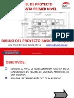 SEGUNDA SESIÓN DE TRABAJO DIBUJO DEL PROYECTO BÁSICO 2020-I-B