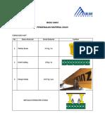 Buku saku - Formwork ZULIN