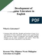 The-Development-of-Philippine-Literature-in-English