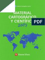 Material Cartográfico y Científico 2019