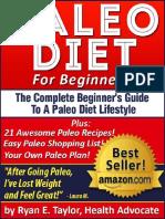 Paleo Diet For Beginners -Diet Guide