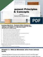Module 5 - CH 3 Ethics, Alternate Text Reading, GVV