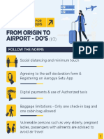 Guidelines for Air Passengers 21May