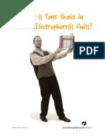 Vertical Electrophoresis Selection Guide