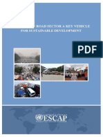 UNESCAP Study report on making the road sector a key vehicle for sustainable development