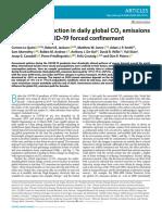 Через карантин викиди вуглецю у світі скоротилися до показників 2006 року