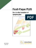 Ficoll-Paque PLUS Handbook