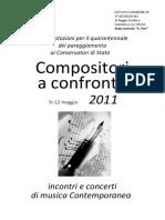 Compositori a confronto 2011