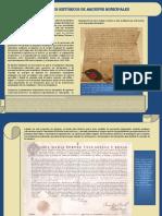 FONDO ARCHIVOS HISTÓRICO MUNICIPALES