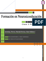 Aprendizaje, Memoria, Plasticidad Nerviosa y Redes Hebbianas  I.pdf