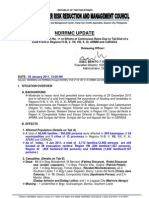 NDRRMC - SitRep - Floodings in Regions IV-B, V, VII, VIII, X, XI, ARMM and CARAGA - 1200 Hrs - 3 January 2011