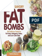 Sweet and Savory Fat Bombs - 100 Delicious Treats for Fat Fasts, Ketogenic, Paleo and Low-Carb Diets (2016).epub