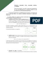 SITUACIONES PATRIMONIALES - equilibrio total, normal, suspensión de pagos y quiebra