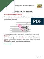 TD-Maths-10 Calcul intégral D200430 pdf