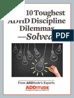 Your 10 Toughest Discipline Dilemmas Solved FINAL