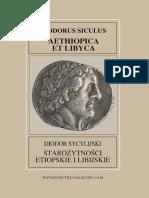 Diodor Sycylijski, Starożytności etiopskie i libijskie