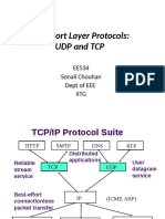 EE534_UDP_TCP TRANSPORT LAYER PROTOCOL