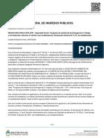 Rg 4720-2020 AFIP SS-Seguridad Social. PAETyP