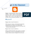 Blogging Class Document