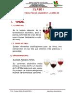 CLASE 1 introduccion a la elaboracion de vinos, piscos y licores.