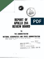 Report of Apollo 201 Review Board