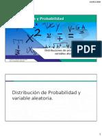 Distribuciones de probabilidad v.a. discretas