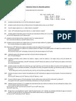 Ejercicios nº de mol Tema 11