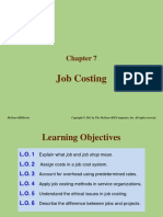 Chapter 2 – Job Costing & Process
