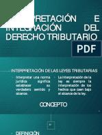 INTERPRETACIÓN, INTEGRACIÓN Y DIVISIÓN DEL DERECHO TRIBUTARIO.pdf