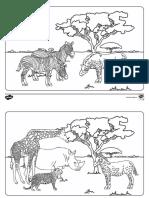 Zebra cu puncte - Pagini de colorat.pdf
