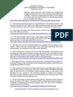 Financial Physics Exec Summary