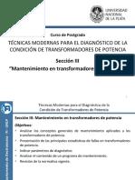 Seccion_III - Mantenimeinto en transformadores de potencia-NORMAS