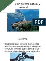 Sistema Natural y Cultural- Bachillerato Estudios Sociales