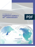 60th Anniversary Event Program