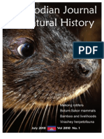 Cambodia Journal of Natural History 2010 Issue 1