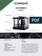 [Fiche Technique] Raise3D_Pro2_Machines-3D