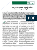 Transparency on greenhouse gas emissions from