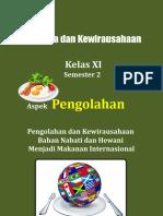 A. Perencanaan Usaha Makanan Internasional