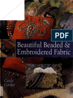 Beautiful Beaded & Embroidered Fabric - Gorder, Cindy