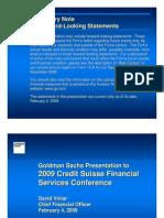 2009 Credit Suisse Document