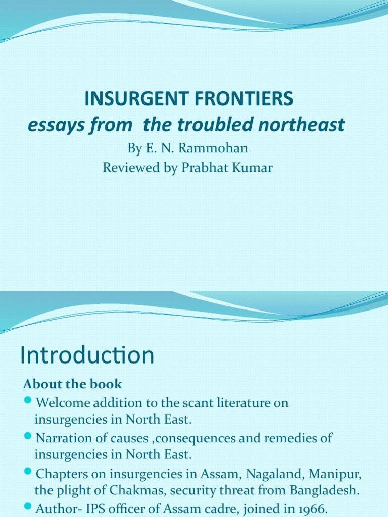 Insurgent Frontiers | South Asia | Politics