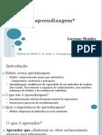 A Aprendizagem - Luciano Mendes