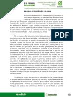 ORGANISMOS DE CONTRO EN COLOMBIA