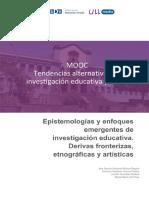 TENDENCIAS ALTERNATIVAS EN INVESTIGACION EDUCATIVA Y SOCIAL